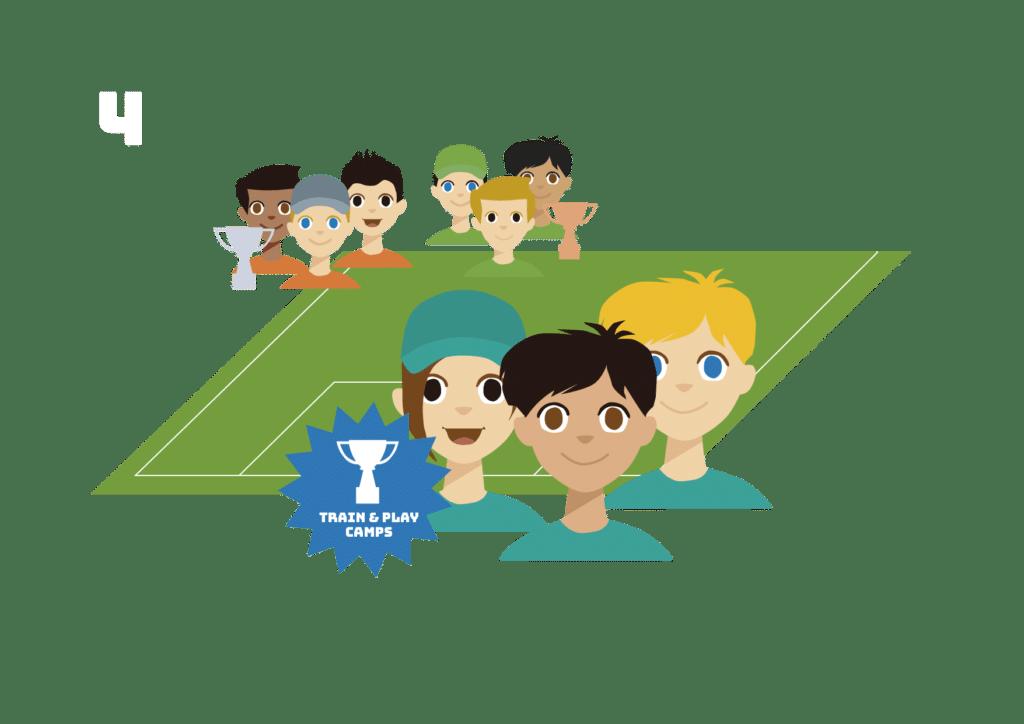 Am Ende darf sich ein Team über den Mini-Turnier-Sieg freuen.