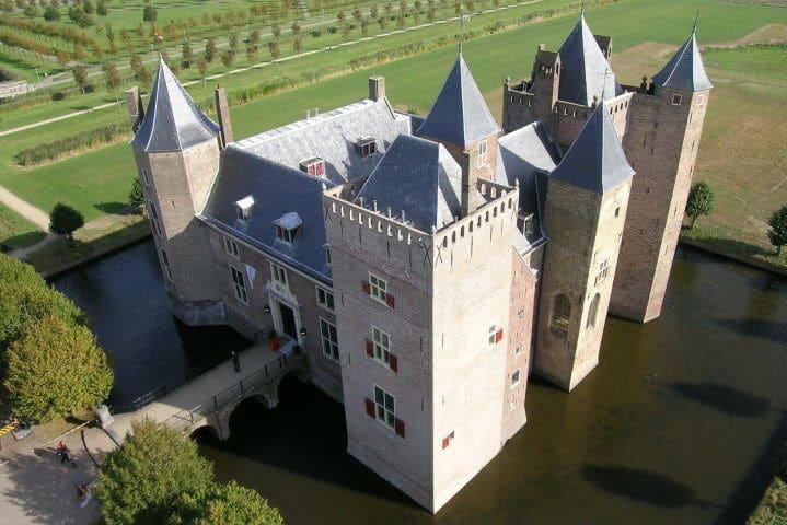 Übernachtung in der Nähe Amsterdams im Schloss