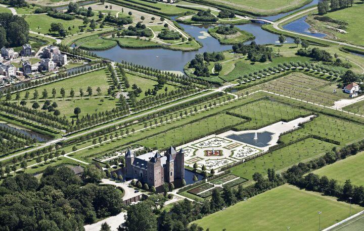 Trainingslager in Holland in einem historischen Schloss