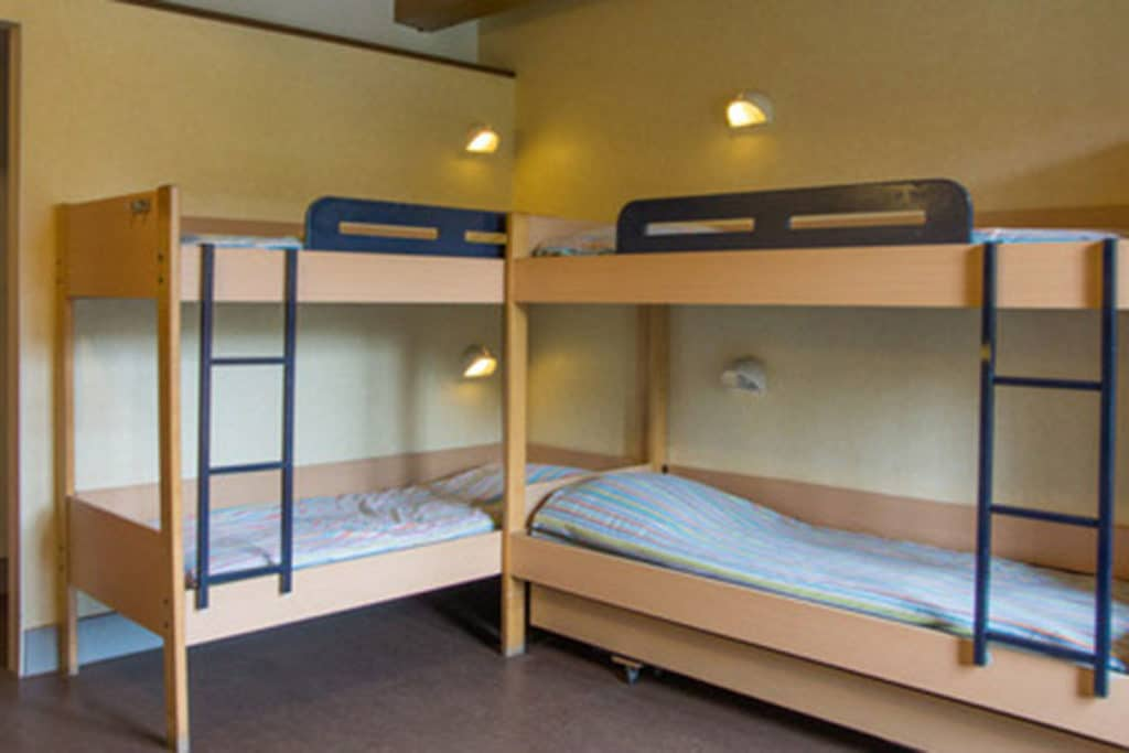 Übernachtung am Wochenende in schönen Mehrbettzimmern in der Nähe Amsterdams