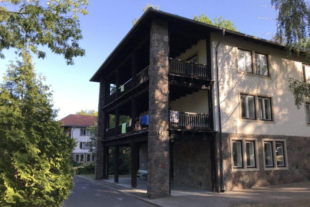 Wohngebaeude Trainingslager Haus am See