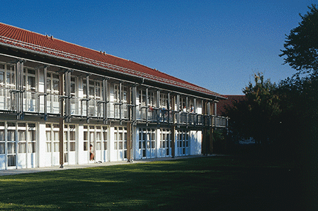 Hausansicht des Trainingslager Oberbayern