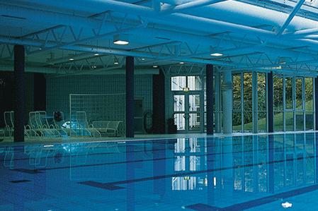 Schwimmhalle der Sportschule Oberbayern