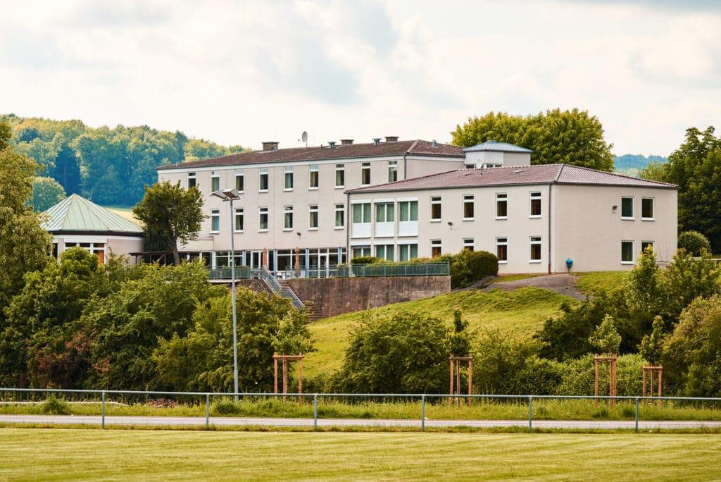 Unterkunft beim Fussball Trainingslager Odenwald