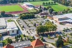 Luftaufnahme des Sporthotel Harz