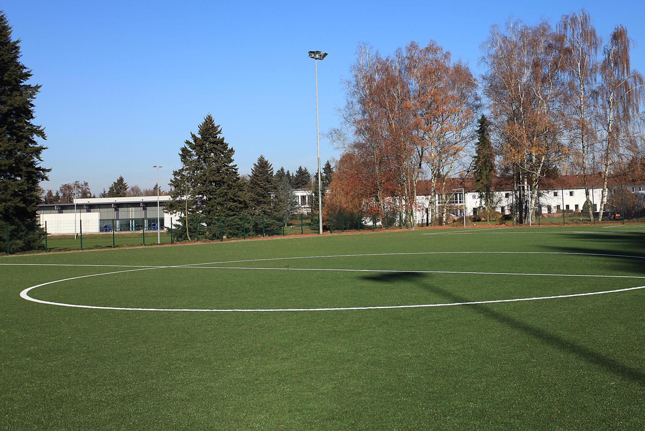 Kunstrasenplatz beim Fussball Trainingslager Sporthotel Mittelhessen