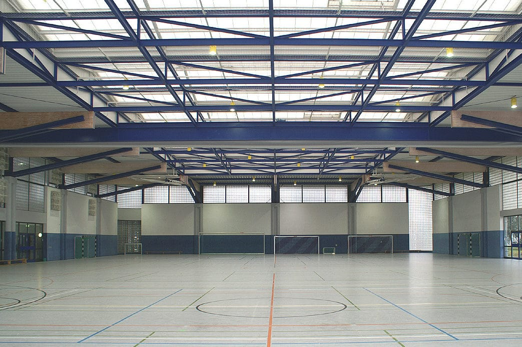 Große Sporthalle des Sporthotel Mittelhessen