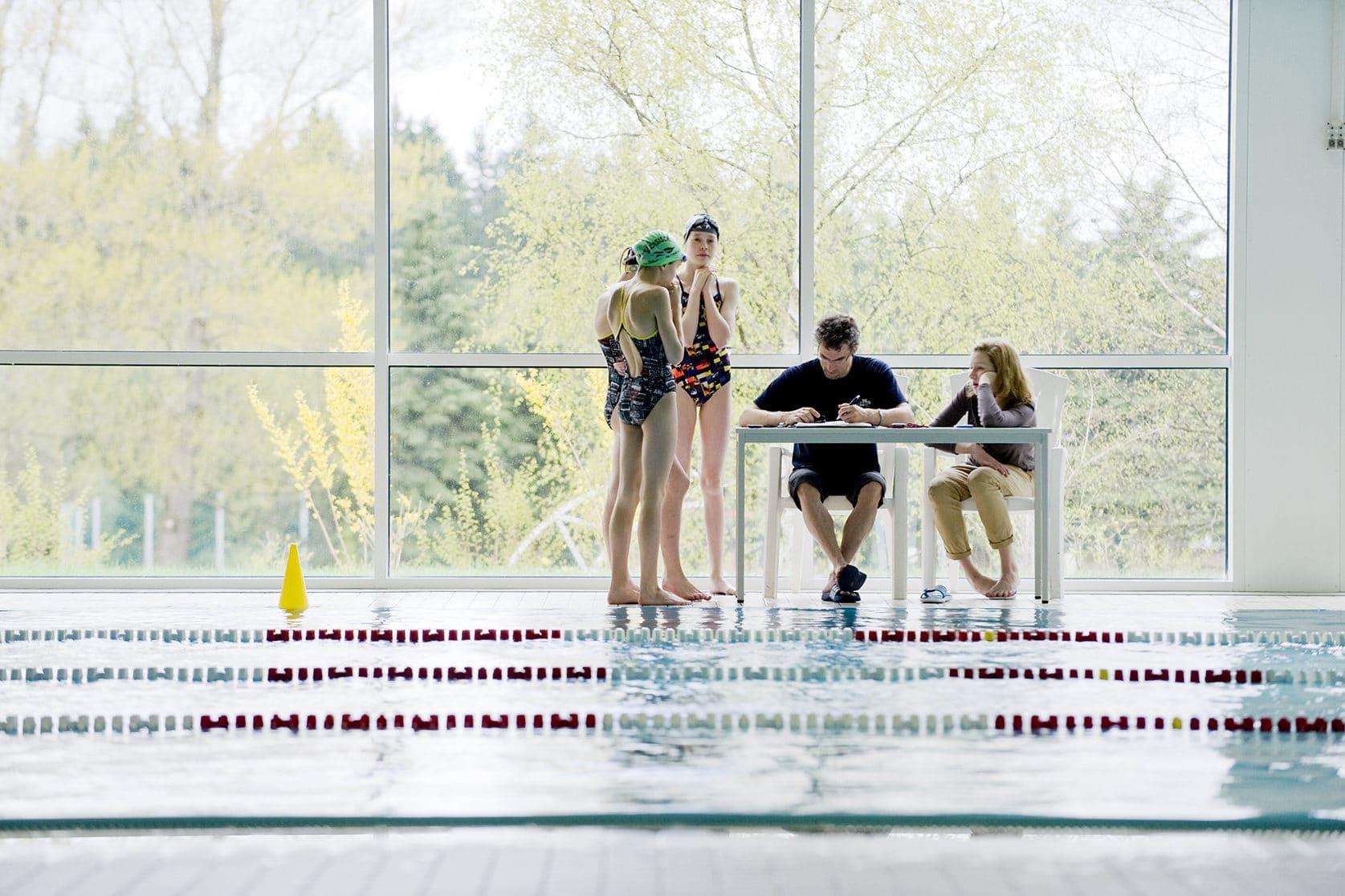 Schwimmhalle Sportpark Erzgebirge Trainingslager