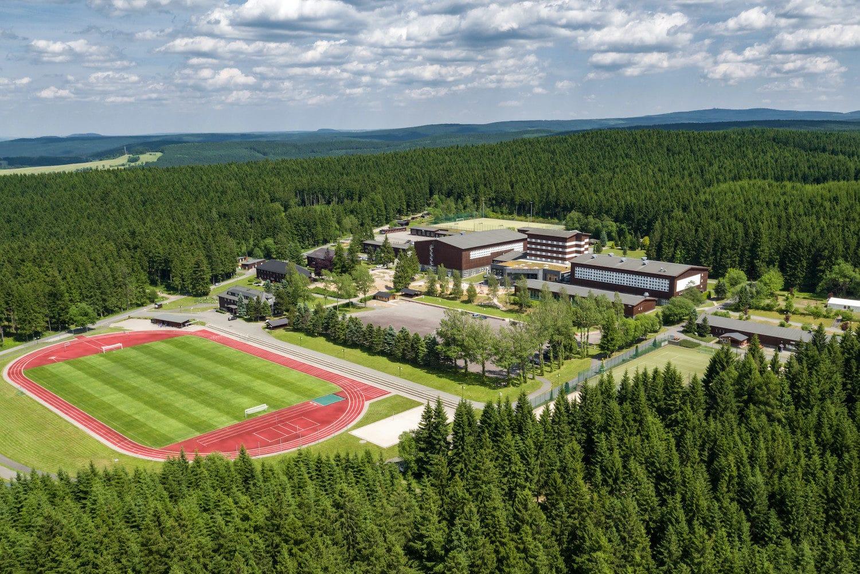Luftaufnahme Sportpark Erzgbirge