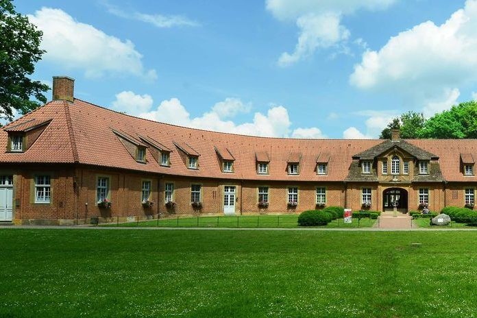 Gebäudeansicht der Sportschule Emsland