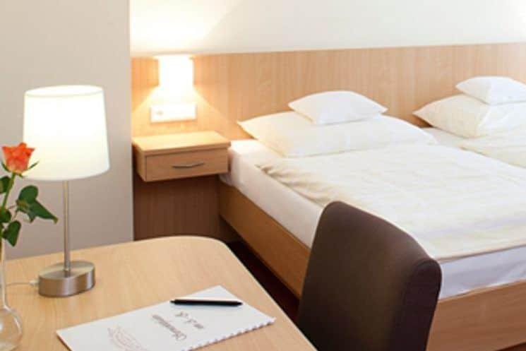 Hotelzimmer der Sportschule Emsland