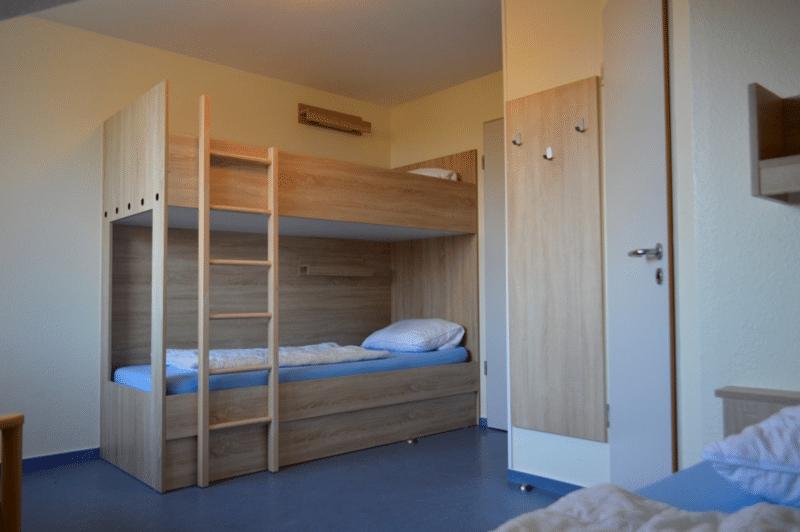Mehrbettzimmer der Sportschule Emsland