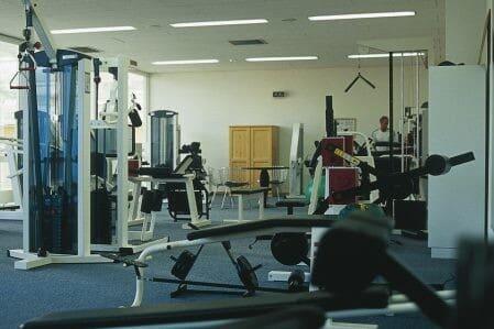 Fitnessraum des Trainingslager Oberbayern