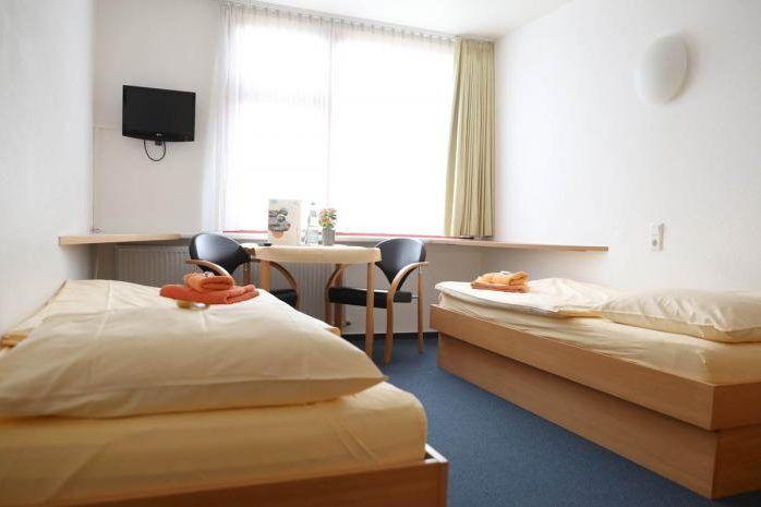 Doppelzimmer während Trainingslager Sportschule Saarland
