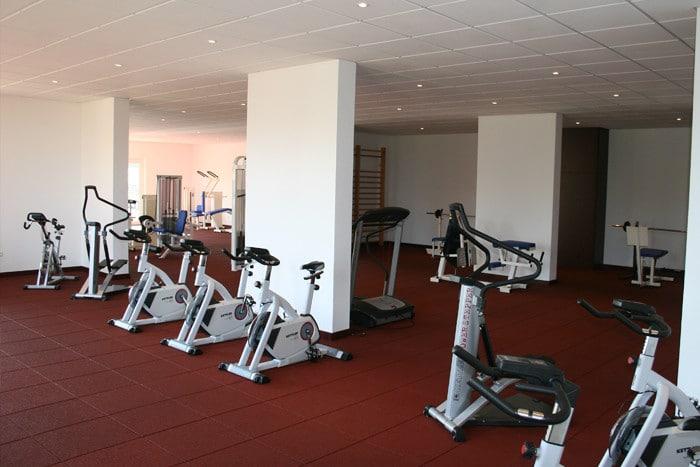 Kraftraum im Trainingslager Sportschule Suedeifel