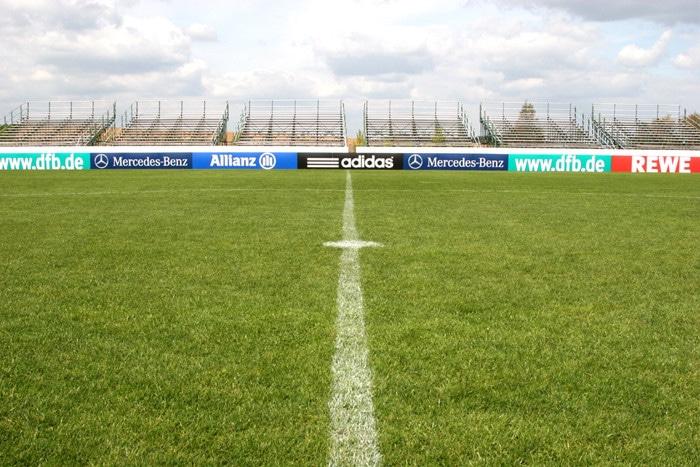 Stadion beim Trainingslager Sportschule Suedeifel
