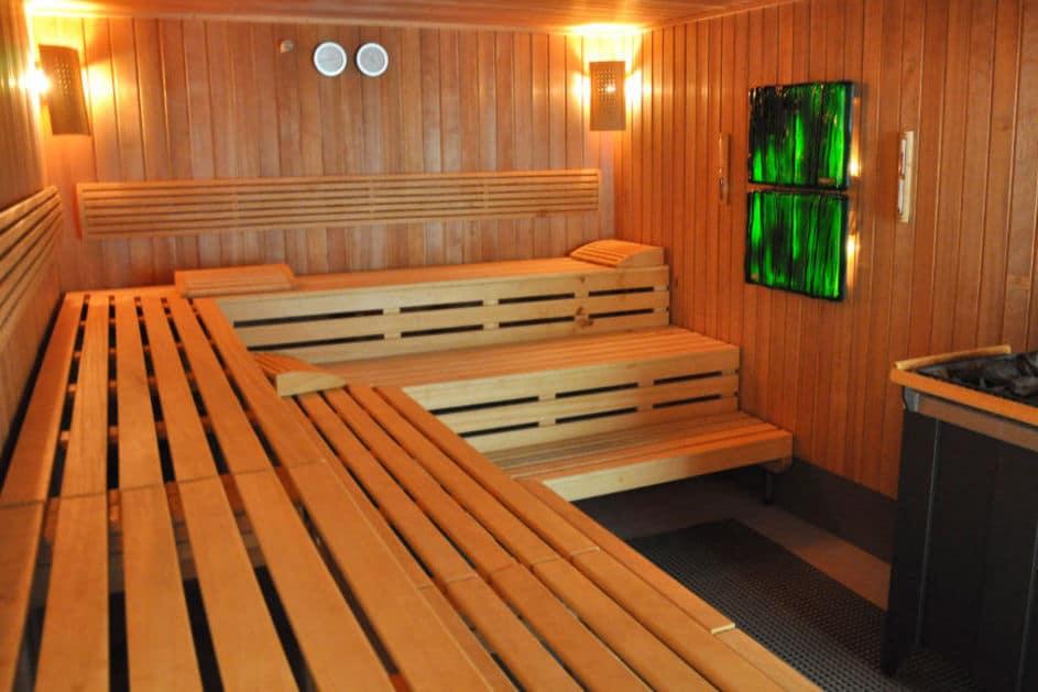 Sauna im Fussball Trainingslager Sportzentrum Ruhrgebiet