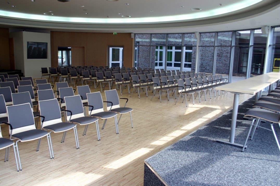 Seminarraum im Fussball Trainingslager Sportschule Ruhrgebiet