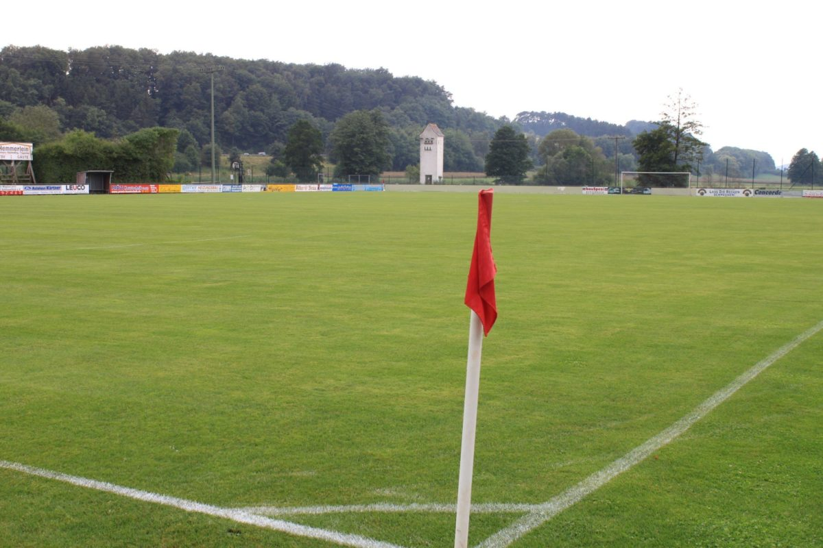 Top gepflegte Sportanlage beim Trainingslager Steigerwald