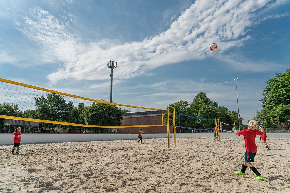 Für die Freizeitgestaltung gibt es eine große Auswahl inkl. mehreren Beachvolleyballfeldern