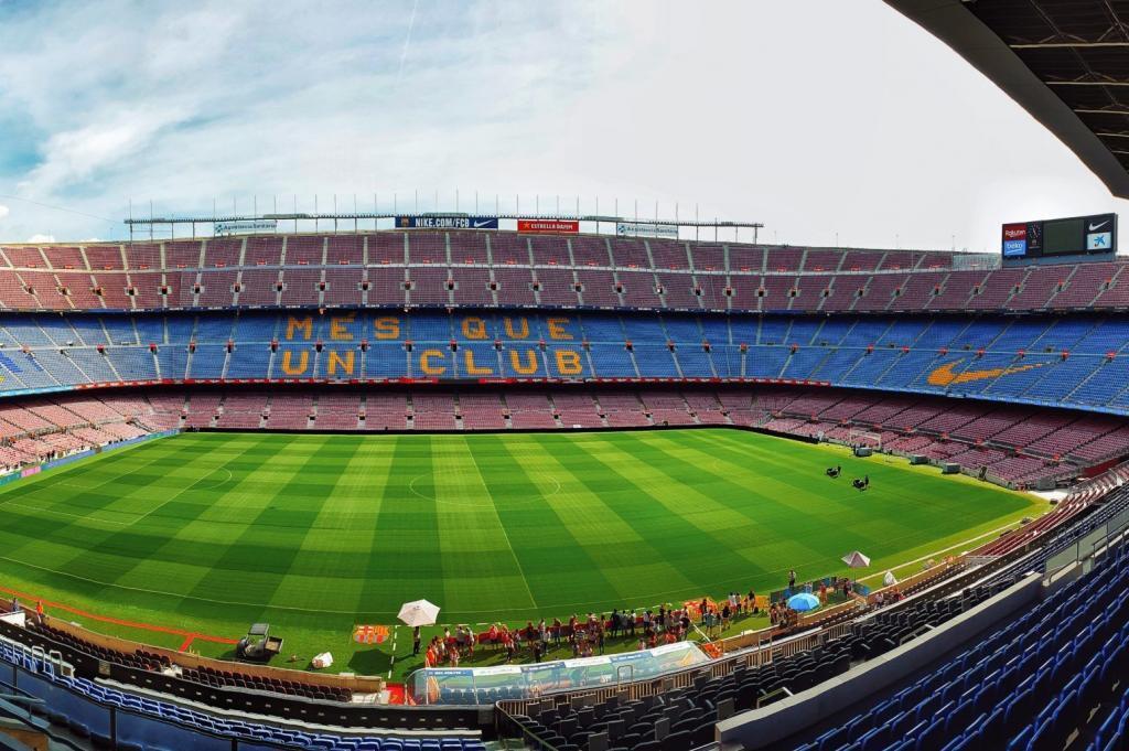 Trainieren wie die Profis in Barcelona