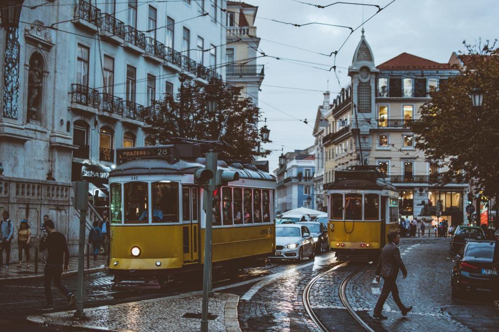 Trainieren und Ausgehen im Herzen Lissabons