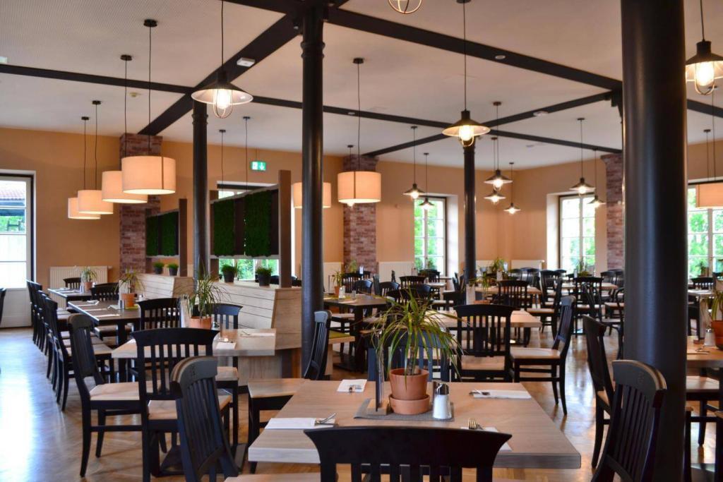 schönes Ambiente im Restaurant