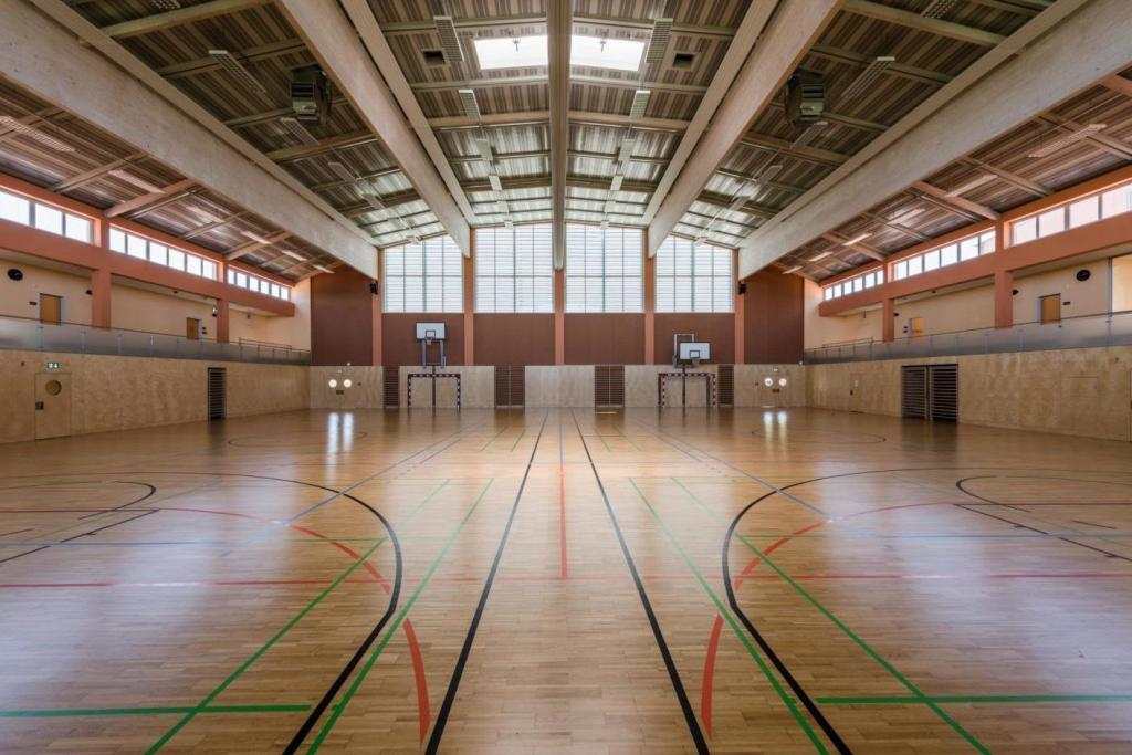 wunderschöne Sporthalle direkt in der Unterkunft Ossteiermark