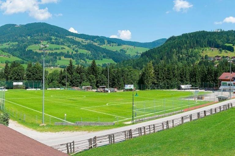 perfekte Bedingungen auf einer ausgezeichneten Sportanlage in der Urlaubsregion Salzburger Land