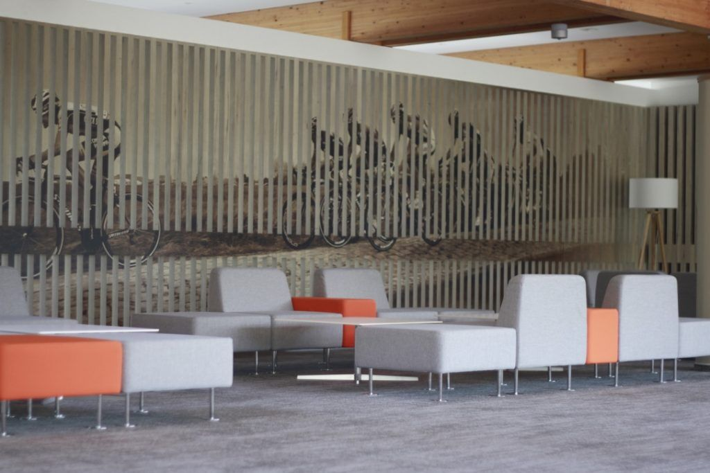 Lobby des Sporthotel Harz während Fussball Trainingslager