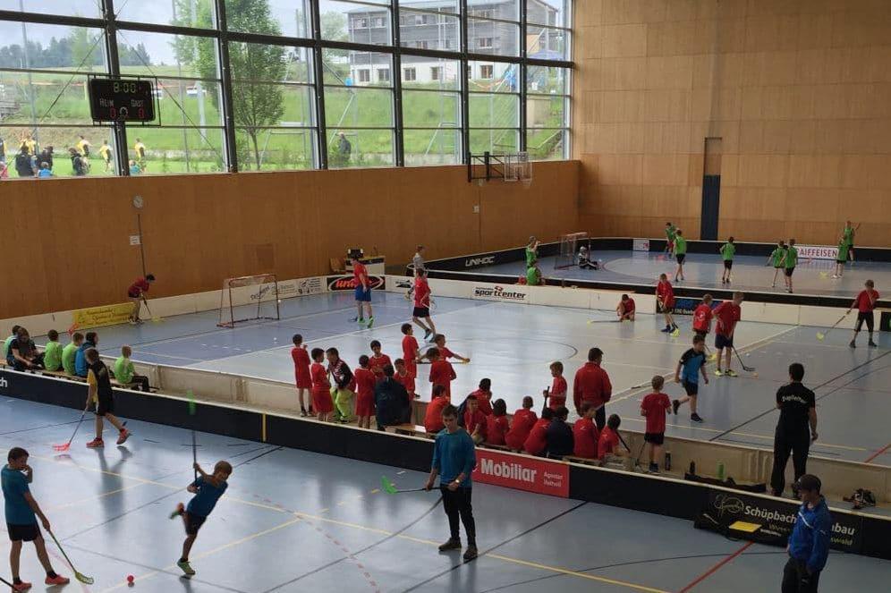 Mehrzweckhalle des Fussball Trainingslager Sportcampus Emmental