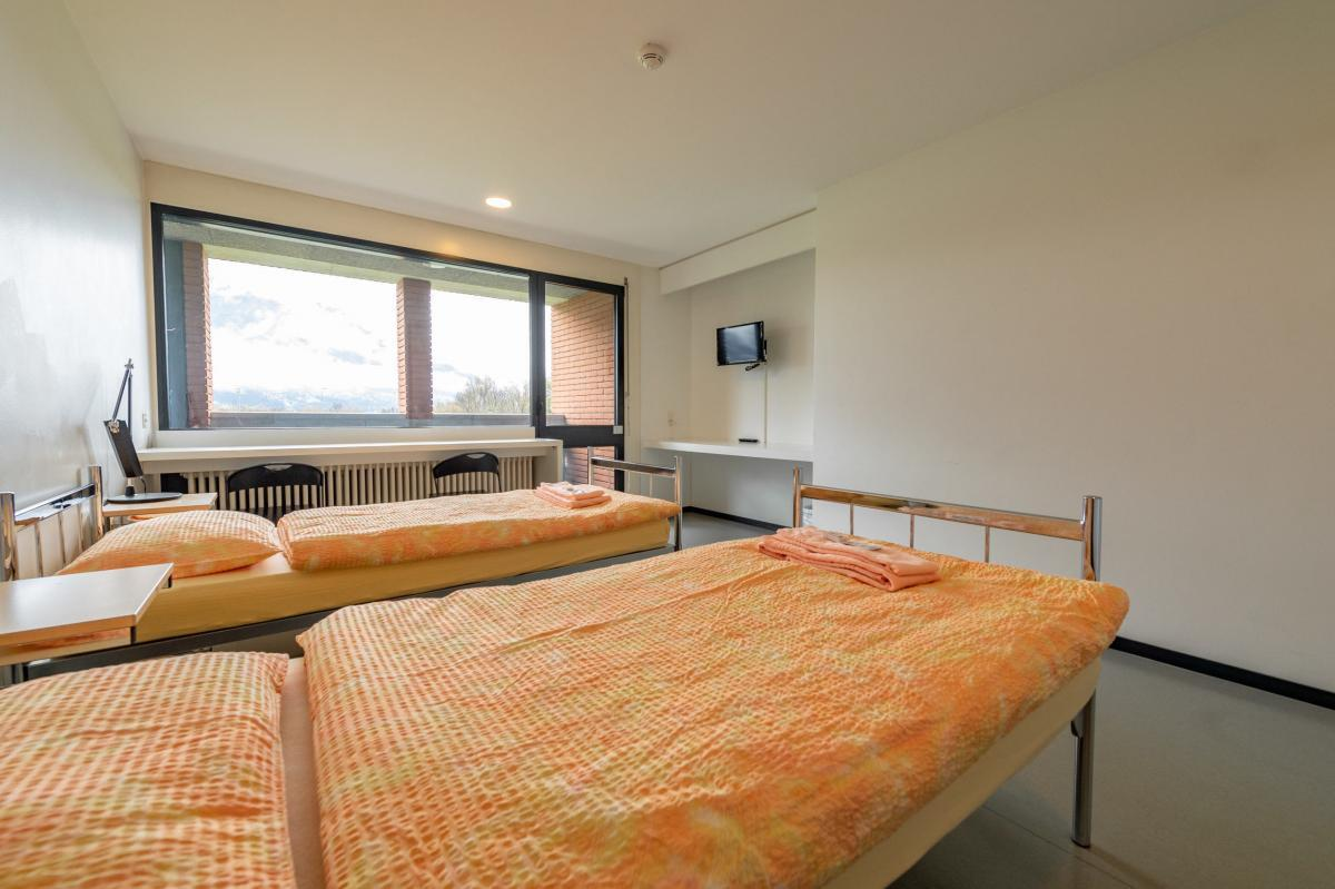 Doppelzimmer im Fussball Trainingslager Lago Maggiore