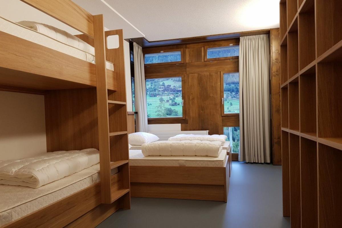 Zimmer im Fussball Trainingslager Wallis