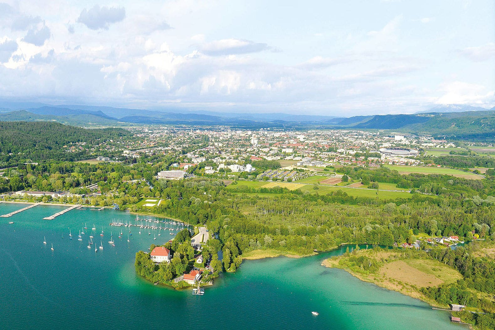 trainingslager_am_woerthersee_view