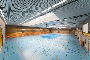 Die Halle kann sowohl für Trainingseinheiten, aber auch für die Freizeitgestaltung genutzt werden