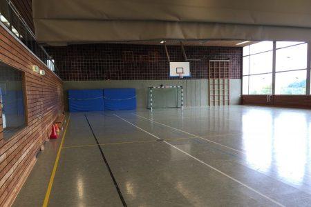 Fussball Trainingslager Frankfurt Sporthalle