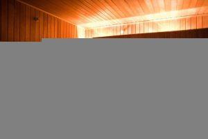 Großer Wellnessbereich mit eigener Sauna im Trainingslager Leipzig