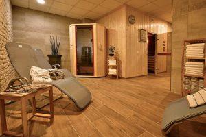 Wellness-Bereich des Trainingslager Nuernberg