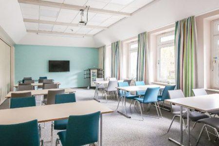 In der Unterkunft gibt es Seminarräume, die für Besprechungen oder Meetings genutzt werden können