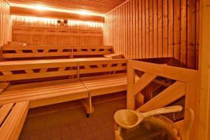 Sauna des Sporthotel Harz