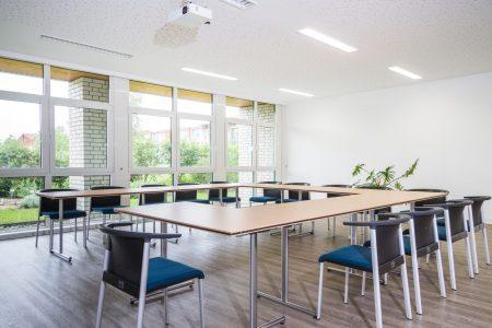 Seminarraum Sporthotel Harz während Fussball Trainingslager