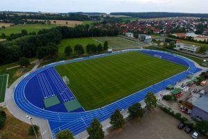 Sportplätze mit Spitzenqualität im Trainingslager Steigerwald