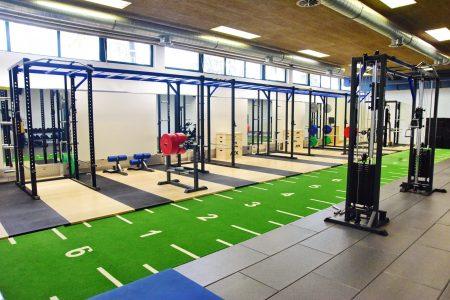 Top ausgestatteter Fitnessraum im Trainingslager Fussball Vorarlberg