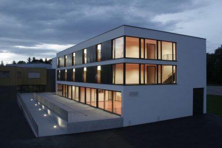 Modernisierte Unterkunft des Fussball Trainingslager Vorarlberg